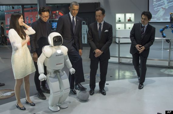 obama robot