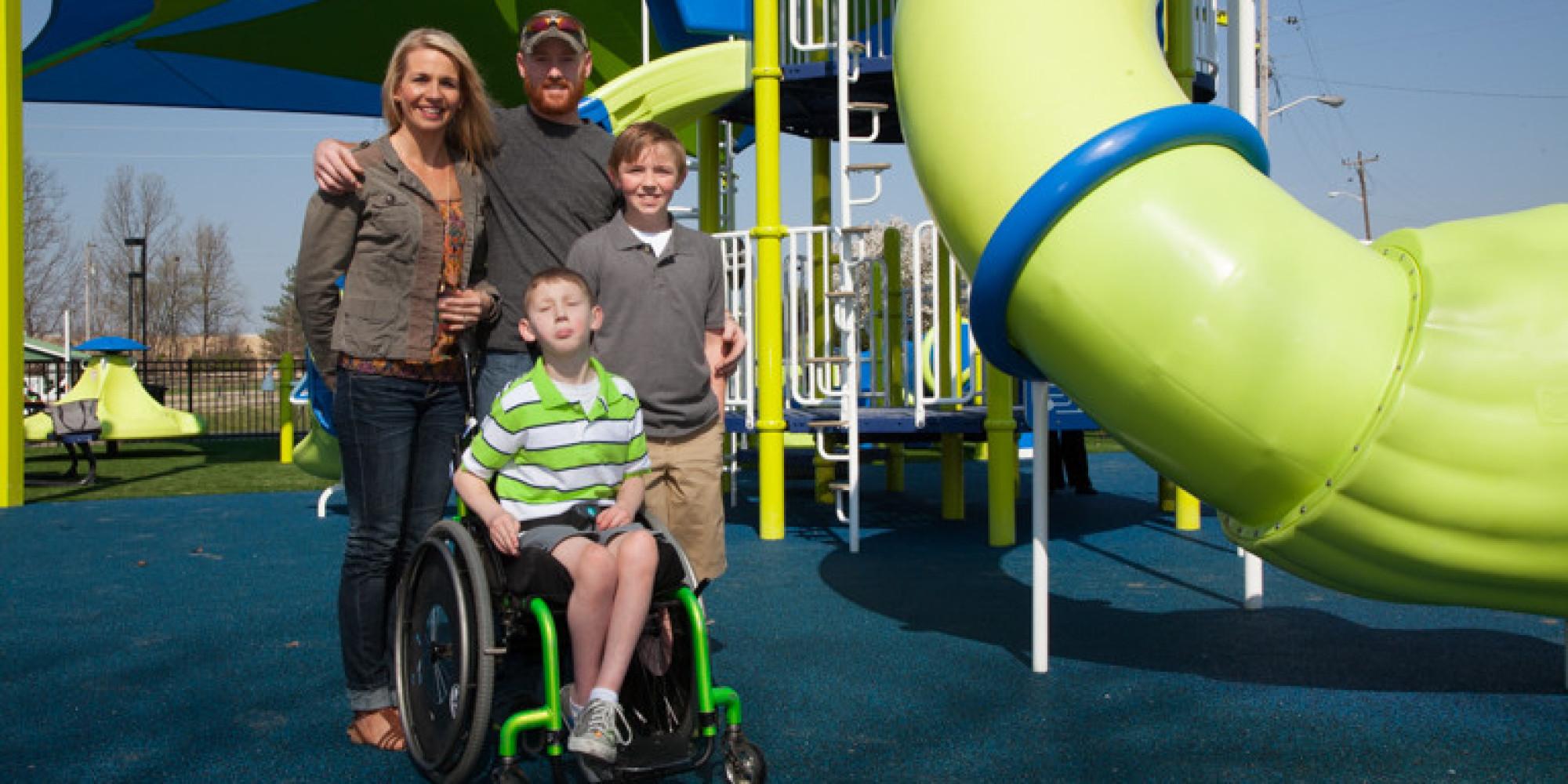 Boy 10 Got Company To Build A Wheelchair Friendly
