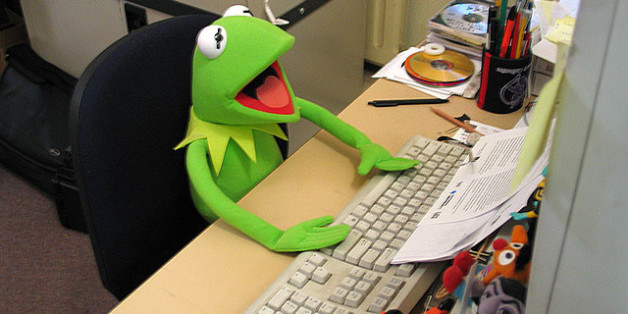 This is Kermit the Frog