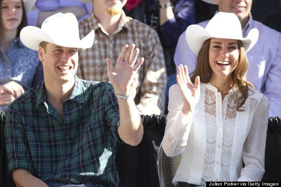duchess of cambridge and stampede
