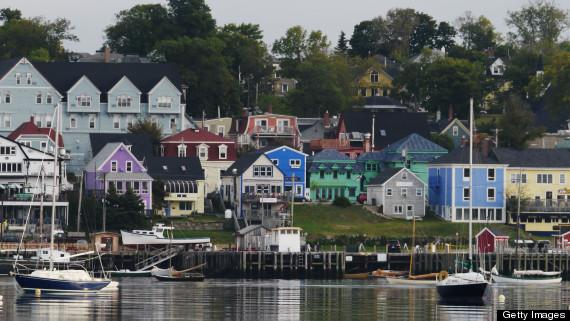 mahone bay waterfront