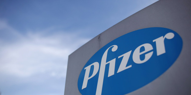 File photo dated 17/08/11 of the logo of US drugs giant Pfizer. The company has confirmed details of a multi-billion pound takeover approach for UK company AstraZeneca.