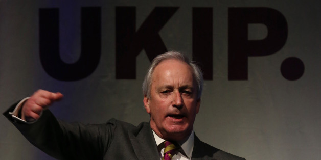 TORQUAY, ENGLAND - FEBRUARY 28:  UKIP campaign director Neil Hamilton speaks at the UKIP 2014 Spring Conference at the Riviera International on February 28, 2014 in Torquay, England. The anti-European Union UK Independence Party leader Nigel Farage is looking to galvanise support ahead of May's European Parliament elections when they hope to win the most seats in the contest, building on its strong poll ratings and success in last year's local elections.  (Photo by Matt Cardy/Getty Images)