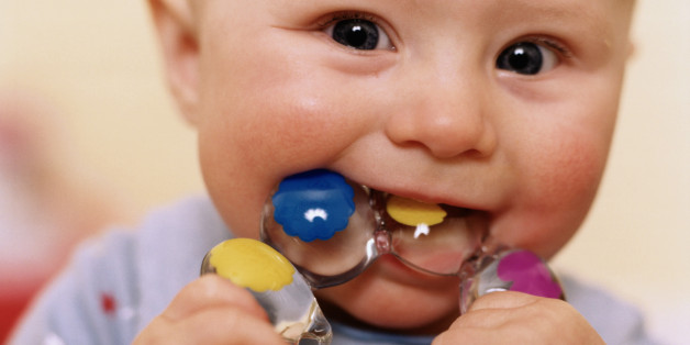 Remedios para los dientes del bebe