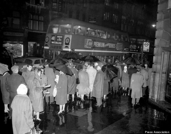 tube strike 1960