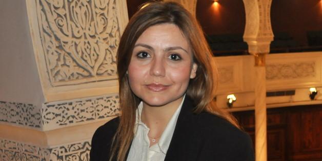 Selma Znaidi fait son entrée à l'Assemblée nationale constituante tunisienne le 29 avril 2014