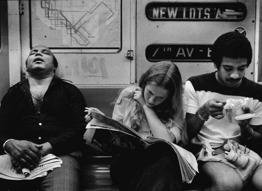 passengers nyc subway