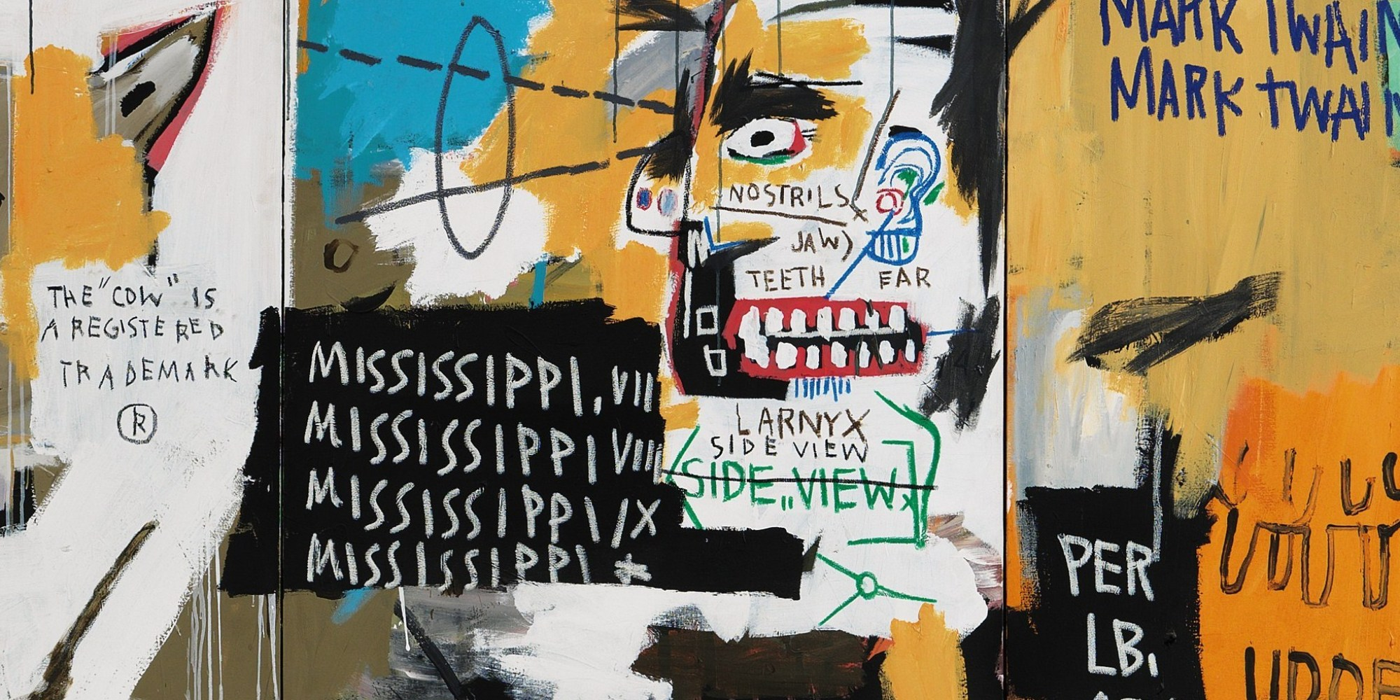 Jean michel basquiat creates his own racial history in jean michel basquiat creates his own racial history in undiscovered genius of the mississippi delta huffpost buycottarizona Gallery