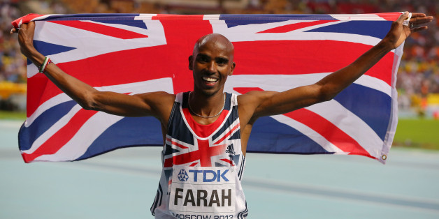 File photo dated 16/08/2013 of Great Britain's Mo Farah celebrates winning the Men's 5000 metres.