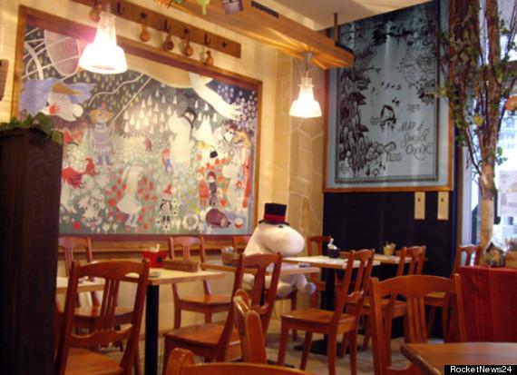 moomin cafe tokyo