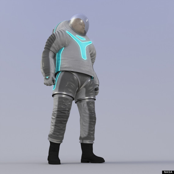 space suit prototype