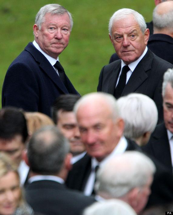 sir alex ferguson sandy jardine funeral