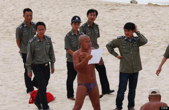 chinese nudist beach
