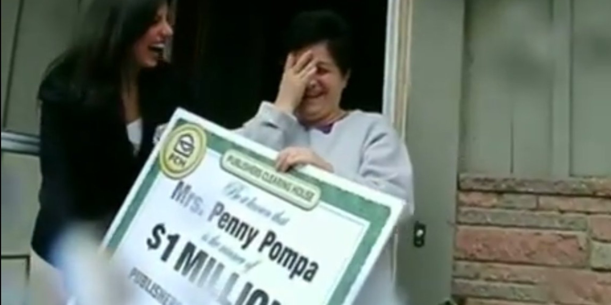 Woman About To Lose Her House Wins $1 Million, Reacts Appropriately |  HuffPost