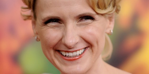 Author Elizabeth Gilbert attends the the world premiere of 'Eat Pray Love' at the Ziegfeld Theatre on Tuesday, Aug. 10, 2010 in New York. (AP Photo/Evan Agostini)