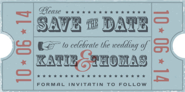 How To Decide If An ESaveTheDate Is Right For You HuffPost - Destination wedding save the date email template