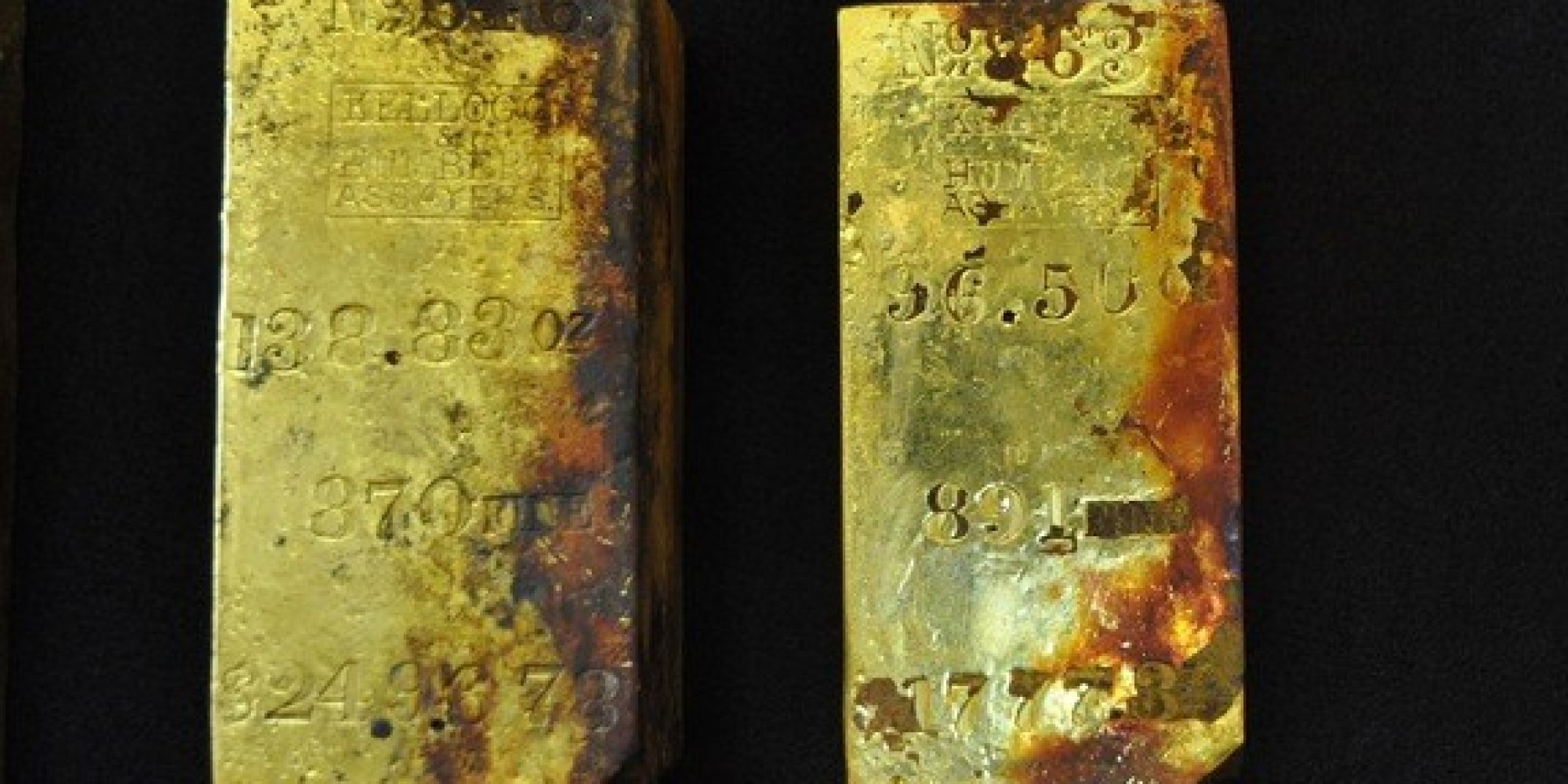 About $300 million worth of gold could soon be recovered fro.