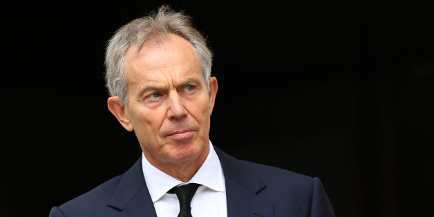 File photo dated 17/04/12 of former Prime Minister Tony Blair who will warn tomorrow, that the West must put aside differences with Russia over Ukraine to focus on tackling the threat from radical Islam, Mr Blair is due to make the intervention in a speech at Bloomberg in London in the morning.