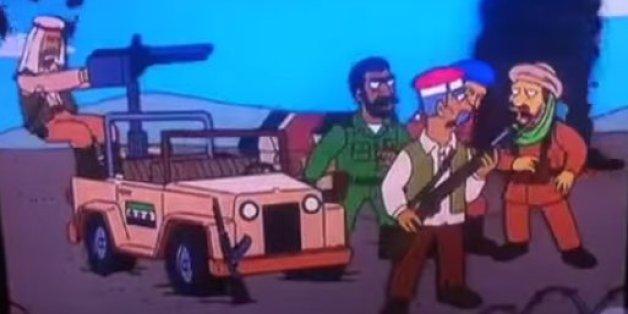 Quel est le rapport entre les Simpson et les révolutions arabes?
