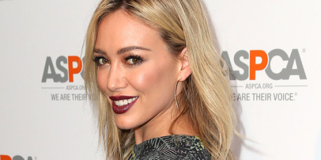 Hilary duff scientology rumor circulates over moon tattoo for Hilary duff tattoos