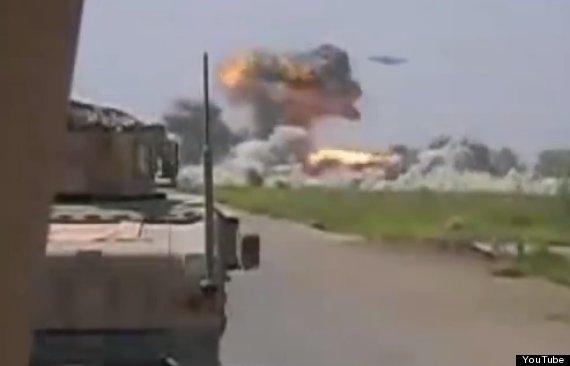 ufo attacks taliban camp
