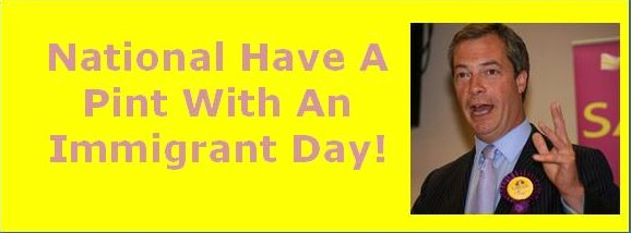 national have a pint with an immigrant day