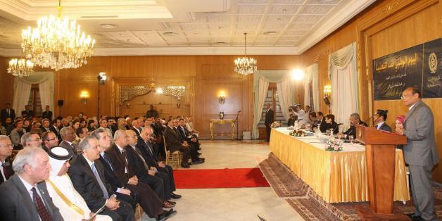 La cérémonie de la journée nationale de lutte contre la Torture au Palais Dhiafa à Carthage le 8 mai 2014