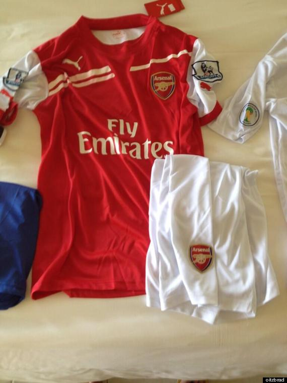 arsenal puma kit