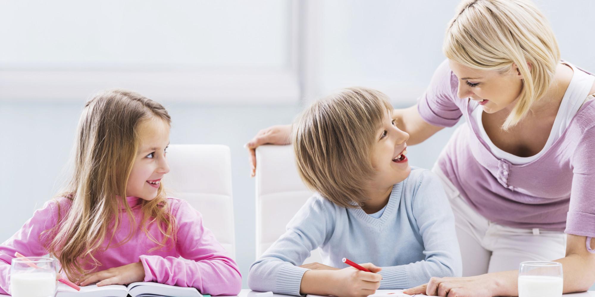 Αποτέλεσμα εικόνας για mom talking with kids