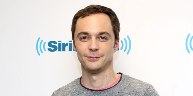 NEW YORK, NY - MAY 08:  (EXCLUSIVE COVERAGE) Actor Jim Parsons visits at SiriusXM Studios on May 8, 2014 in New York City.  (Photo by Robin Marchant/Getty Images)