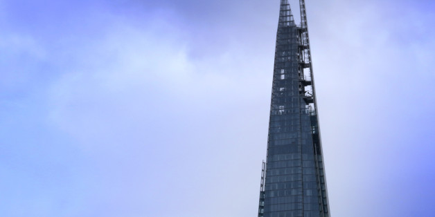 General View of the Shard on London's River Thames, London