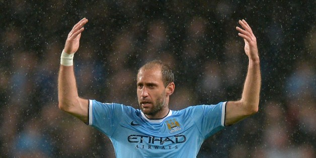 Pablo Zabaleta was instrumental for City again