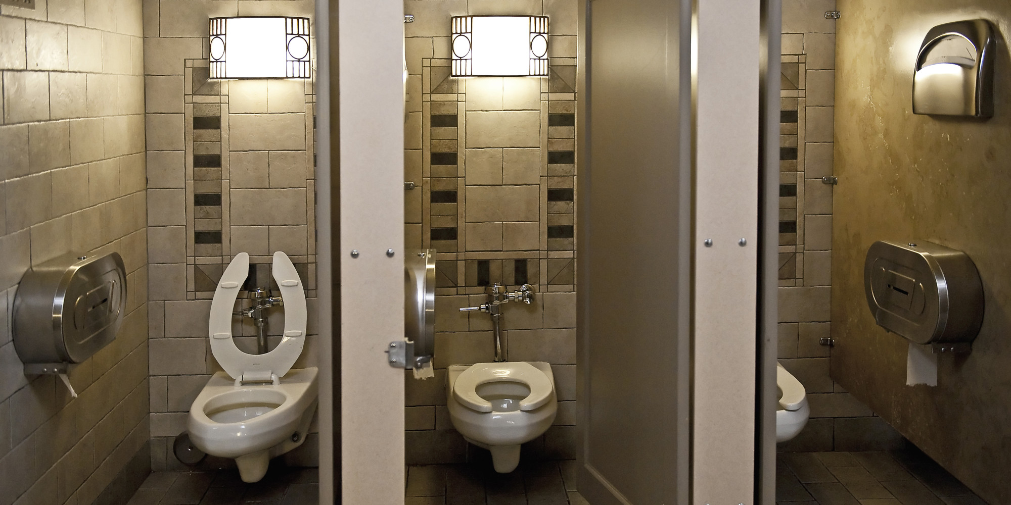 Worlds Most Honest Janitor Gets To Keep He Found In Toilet - Cheap bathroom stalls