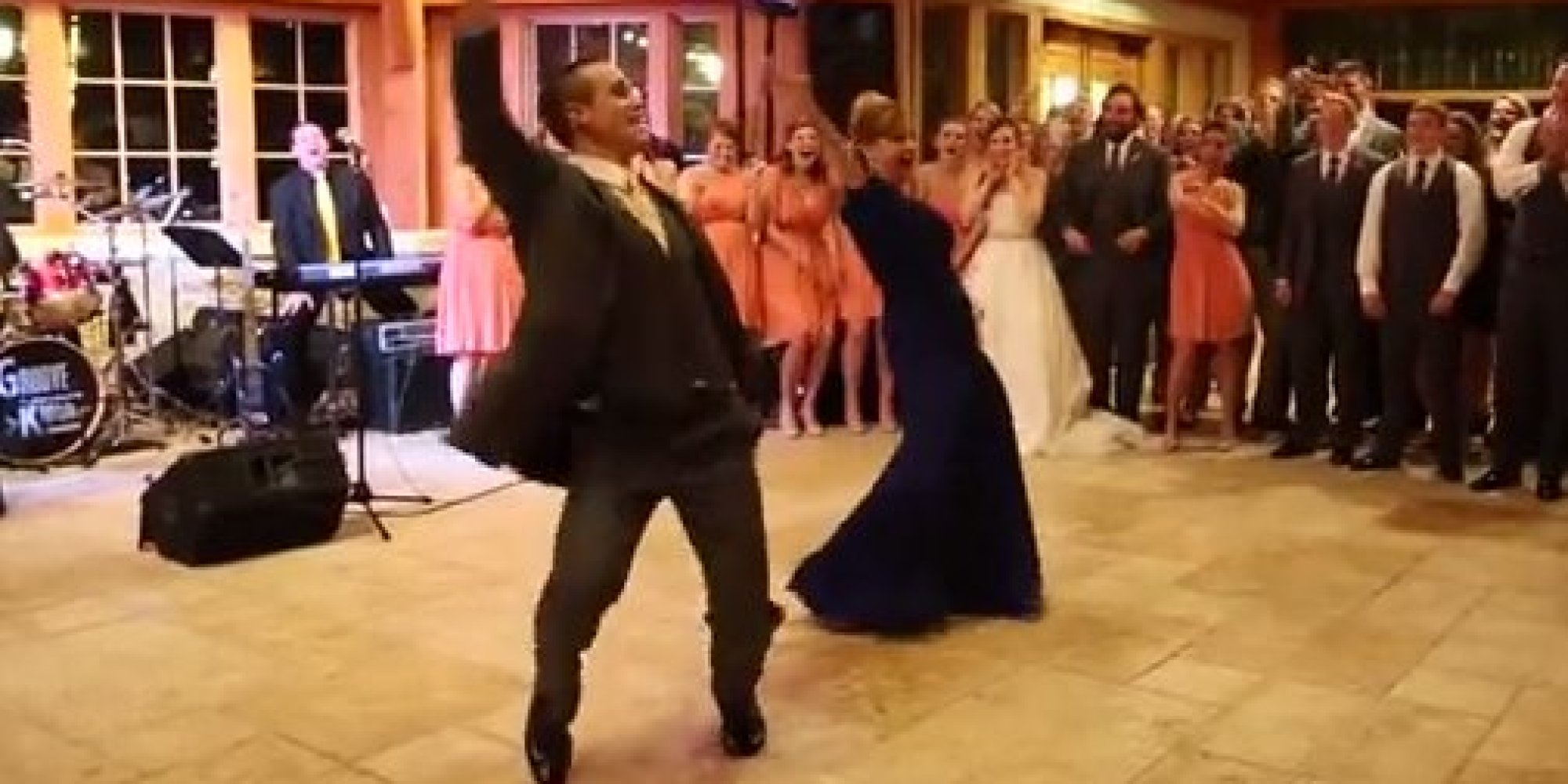 If Only All Mother Son Wedding Dances Were This Entertaining Huffpost