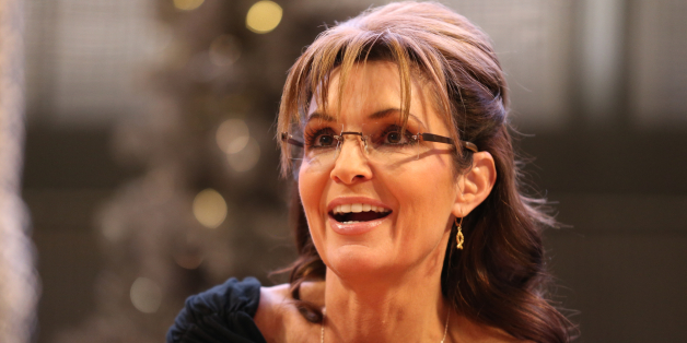 Sarah Palin signs copies of her new book 'Good Tidings and Great Joy: Protecting the Heart of Christmas' on November 21, 2013