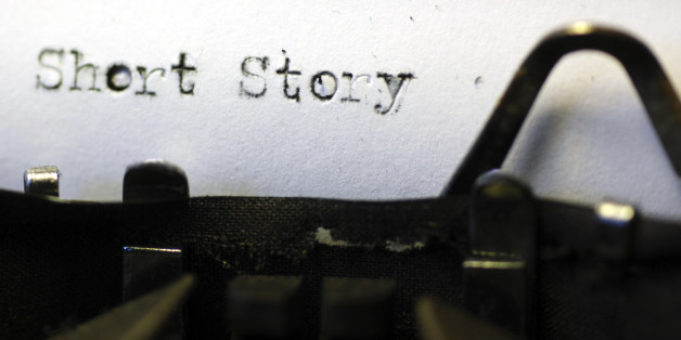 """Typerwriter and print """"Short Story"""" (DAVE BOLTON VIA GETTY IMAGES)"""