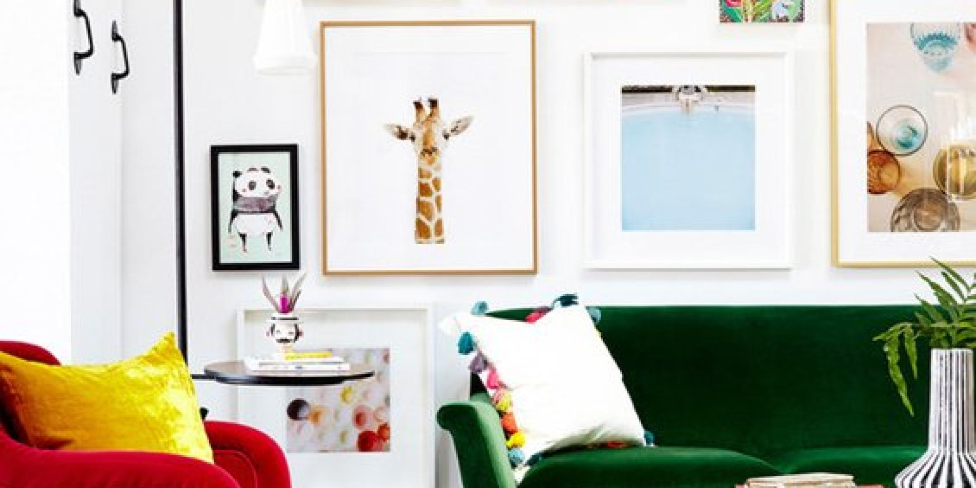 DIY Wall Ideas Using Items Around Your Home | HuffPost