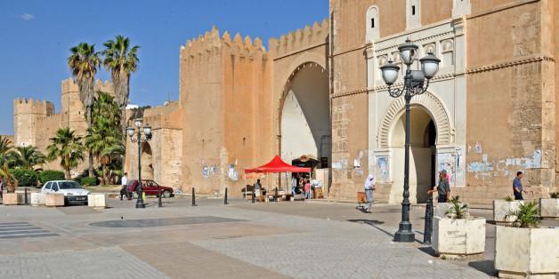 Une des entrées à la médina de Sfax