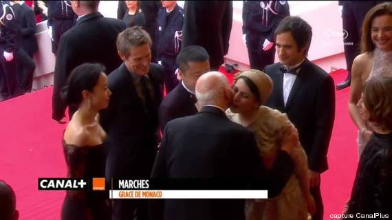 bise leila hatami gilles jacob cannes