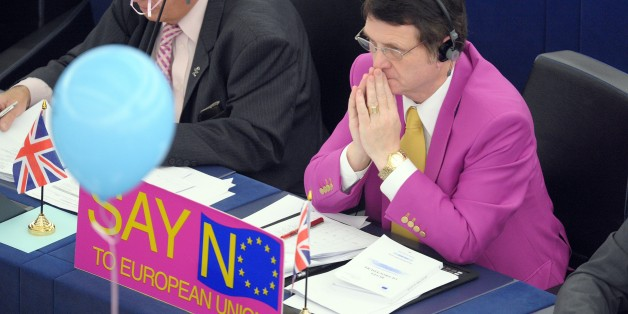 British European deputy Gerard Batten attends on October 20, 2010 a vote in favor of raising maternity leave from 14 to 20 weeks while giving fathers across the 27-nation bloc two weeks to spend time with their newborn. European lawmakers gave their blessing to hotly contested plans for all new mothers across Europe to have five months of maternity leave. Some governments have warned the 20-week fully paid leave will add a huge burden to hard-pressed taxpayers, while business leaders say it may