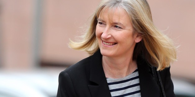 MP Sarah Wollaston arrives at Preston Crown Court as a witness in the trial for former deputy speaker of the House of Commons Nigel Evans who faces nine charges, dating from 2002 to April 1, last year of sexual offences against seven men.