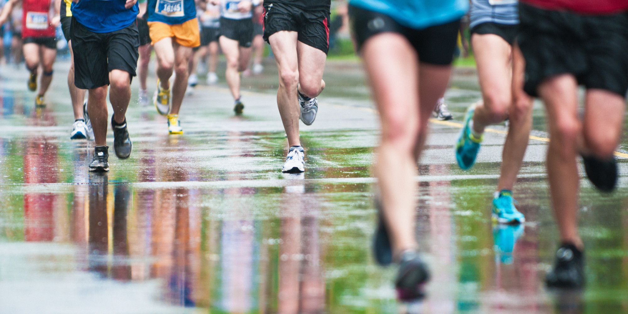 what to wear during a rainy marathon