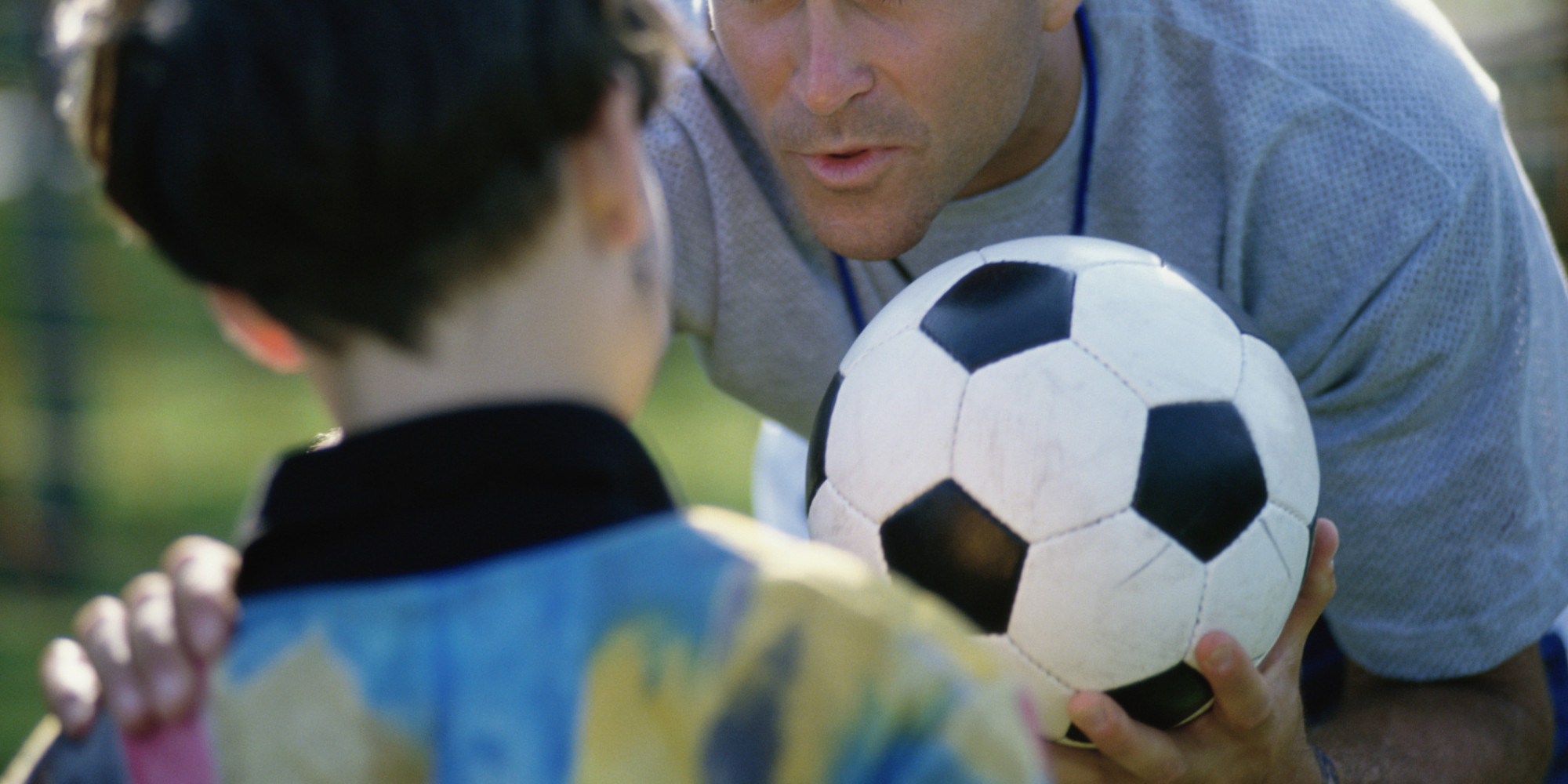 Coaching doing Sports Psychology to young students