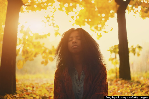 breathing into sun