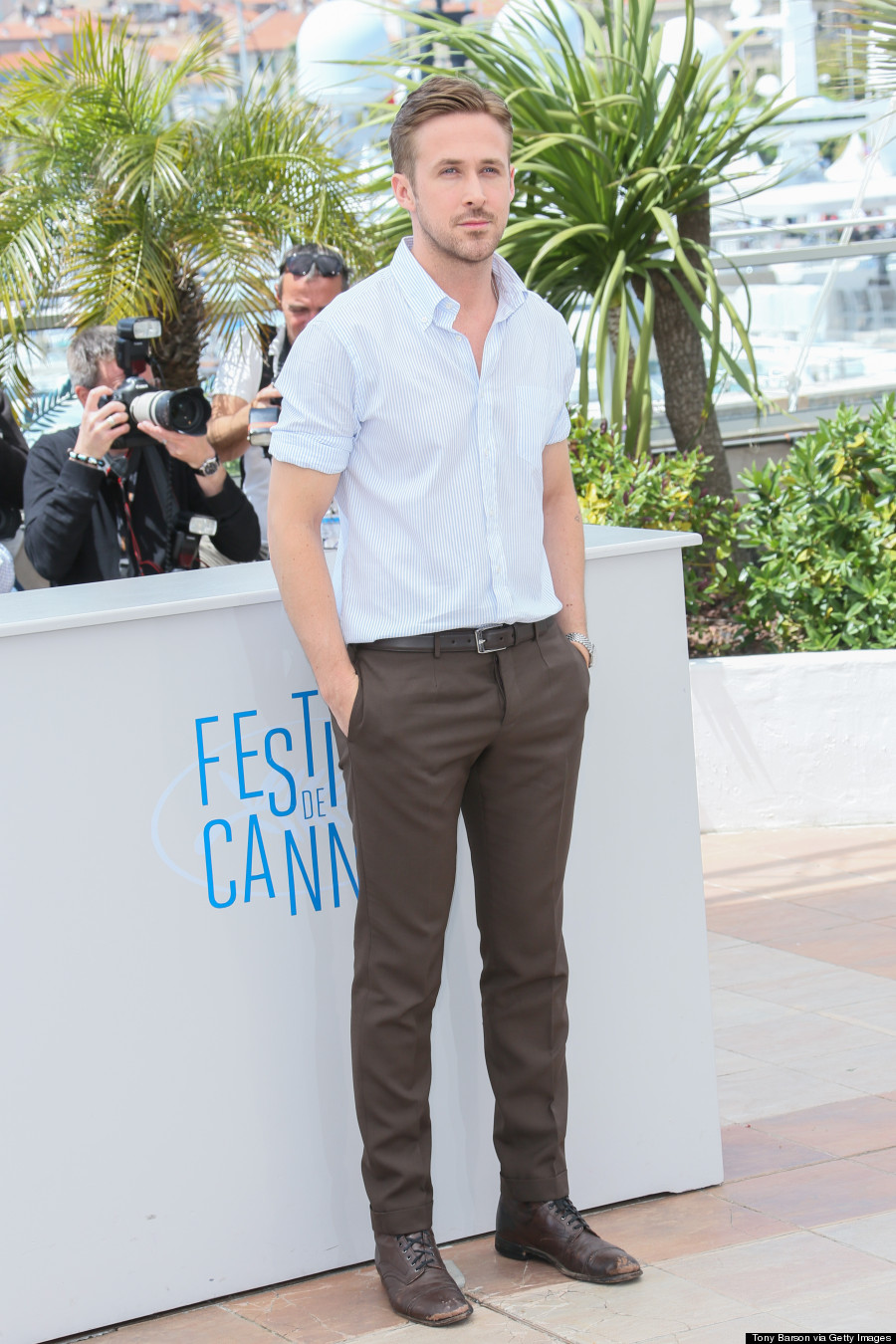 The Photos Of Ryan Gosling In Cannes That We've Been Waiting For