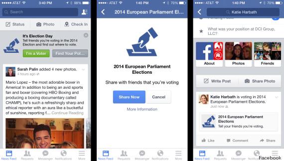 facebook vote europeennes