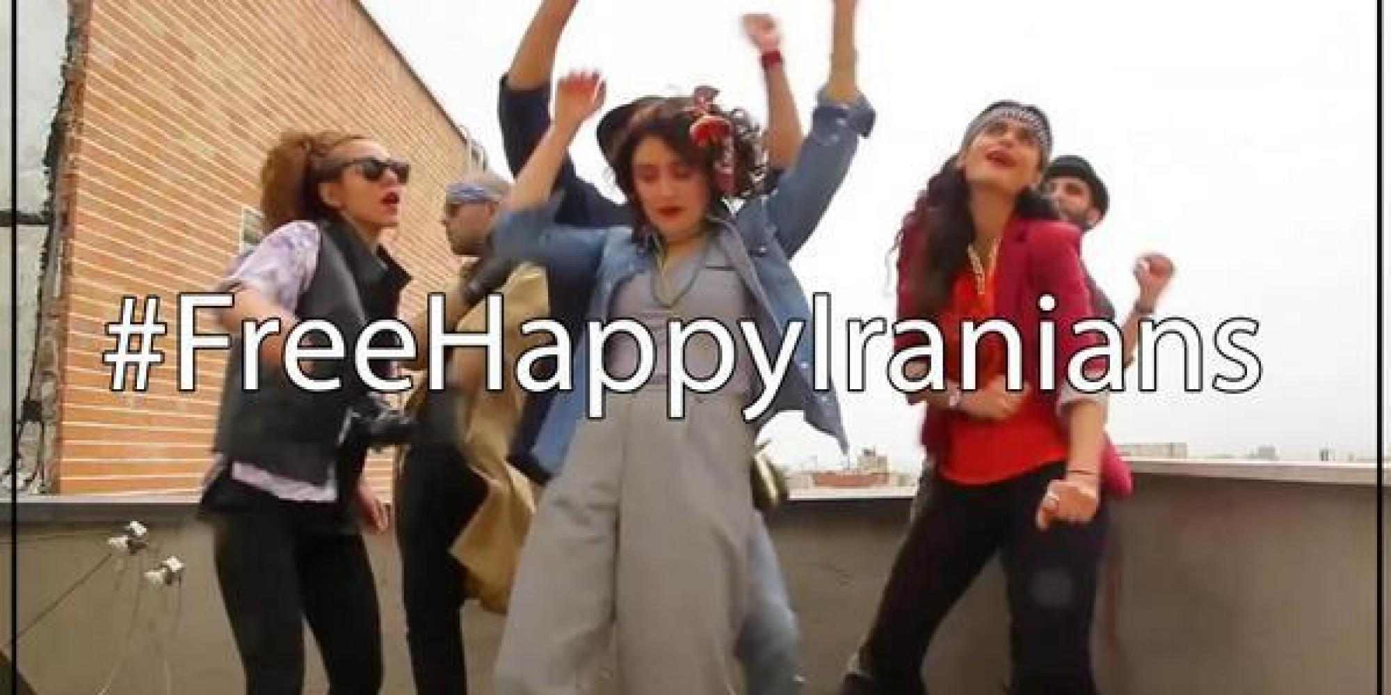 Young Iranians Arrested For Dancing In 'Happy' Pharrell Video [UPDATE] |  HuffPost