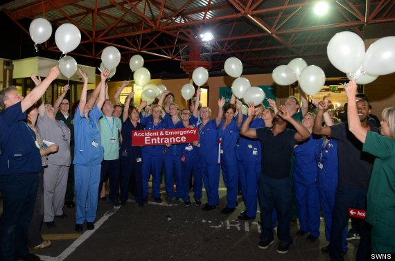 nurses balloons