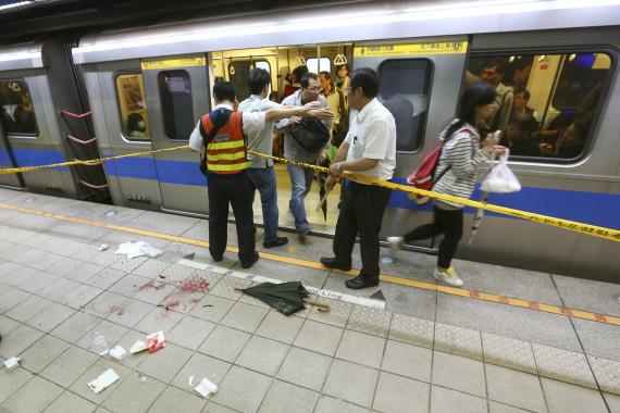 train stabbing