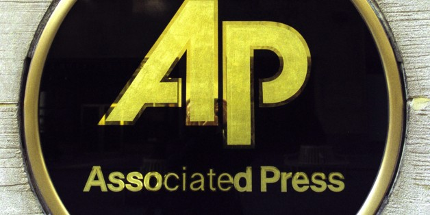 UNITED STATES - FEBRUARY 12: Logo of Associated Press ( AP ) at the headquarters The Associated Press Building. (Photo by Ulrich Baumgarten via Getty Images)